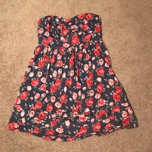 Strapless Floral Dress by Torrid